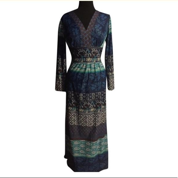 B Altman Dresses & Skirts - B Altman Vintage Boho Maxi Dress